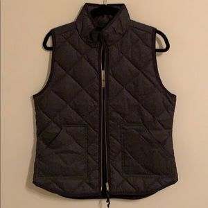 NWT J crew quilted vest